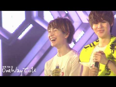 [OneWaytoU]12o72l.SHINεε World Concert in Seoul.U are the best!! ^▽^
