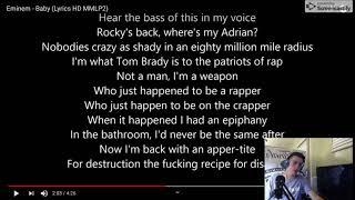 Eminem BABY REACTION! He's TOO Lyrical!!