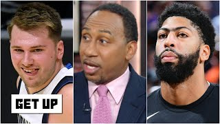 Stephen A. breaks down all the NBA playoff action: Luka Doncic, Anthony Davis & Trae Young | Get Up