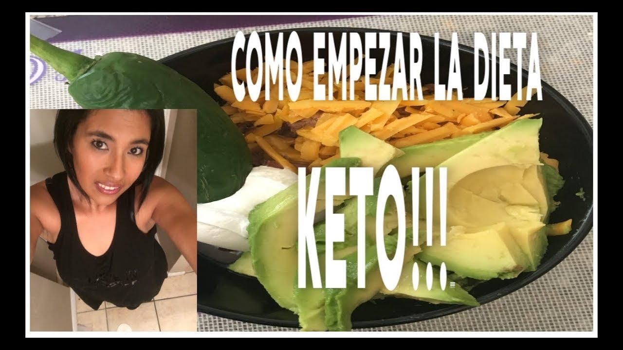 como empezar la dieta de keto