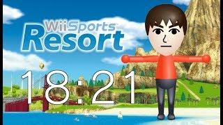 Wii Sports Resort: All Sports Speedrun in 18:21