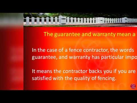 Difference of Fence Contractor From Other Contractors in Adelaide