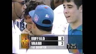 1995 - Week 9 - Buffalo Bills at Miami Dolphins