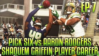 SUPERBOWL BOUND!? PICK SIX VS AARON RODGERS! Shaquem Griffin Player Career Ep.7