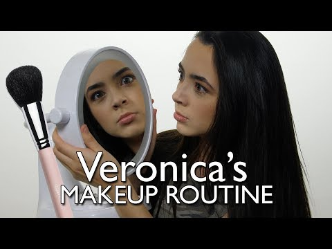 Veronica's Makeup Routine - Merrell Twins