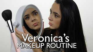 Veronica's Makeup Routine - Merrell Twins