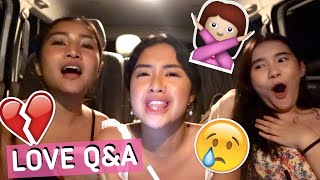 ANSWERING YOUR LOVE QUESTIONS ft. TONI SIA & RY VELASCO | Rei Germar