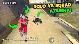 Unbelievable 26 Kill Solo vs Squad Ajjubhai Gameplay - Garena Free Fire