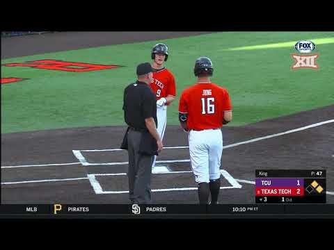 TCU vs Texas Tech Baseball Highlights - Game 2