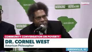 Cornel West Endorses Bernie Sanders 2020