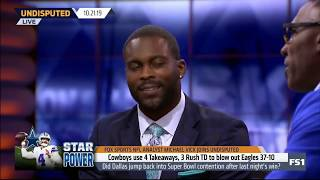 Michael Vick: Did DAL jump back into SB contention after last night's win?