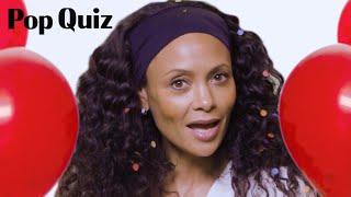 Thandie Newton Plays Pop Quiz   Marie Claire