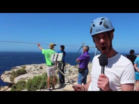 Azure TV: Vlog 29 – Malta's Longest and Fastest Zip Line