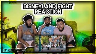 Disneyland Fight Brawl (REACTION)