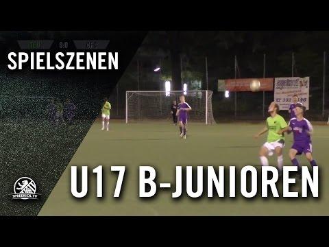 SSC Teutonia - BSV Eintracht Mahlsdorf (U17 B-Junioren, Landesliga, Staffel 2) - Spielszenen | SPREEKICK.T