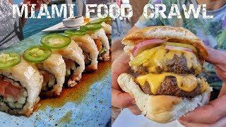 DEVOUR POWER Miami: 3 of our Favorite Spots! FOOD CRAWL