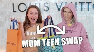 SWITCHING PLACES WITH MY MOM FOR 24 HOURS! Its R Life
