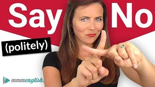 How to Say NO! 🙅‍♀️ English Conversation & Pronunciation Skills