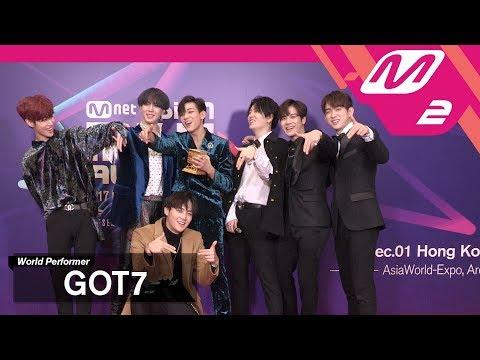 (미공개) [2017MAMA x M2] GOT7 at 땡큐스테이지(Thank You Stage)