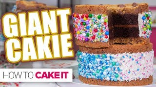 GIANT CAKIE!   How To Cake It