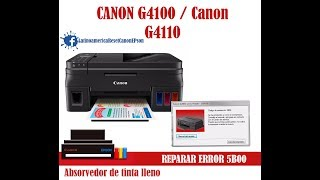 Canon St5103 Service Tool 2018 , ST5103 - Reset Your Printer