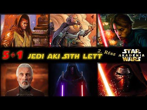 Újabb 5 Jedi aki elbukott és Sith lett +1 különc :) | Star Wars Akadémia