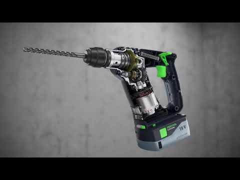 Festool BHC 18-Basic 18v Cordless Sds Hammer Drill Bare Unit Free 4.0ah Battery