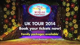 Disney On Ice presents Worlds of Fantasy (official trailer)