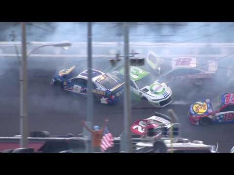 The 'Big One' strikes late at Daytona