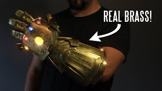 REAL metal Infinity Gauntlet (that snaps!)