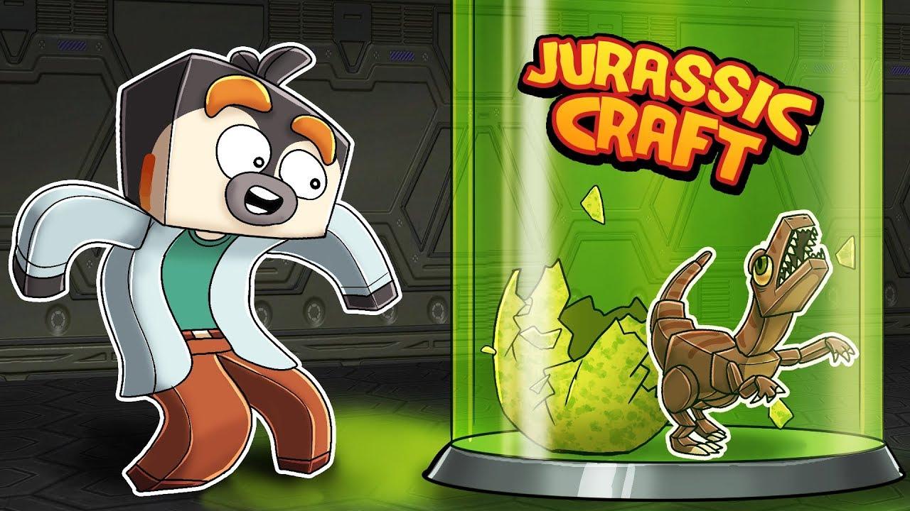 Minecraft Jurassic Craft - HOW TO HATCH FIRST DINOSAUR!