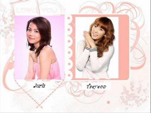 Juris & Taeyeon (SNSD) - If (English & Korean Version Combined)