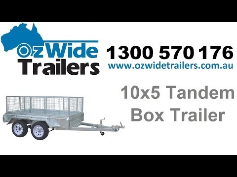 Trailers For Sale - 10x5 Tandem