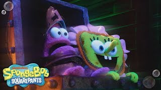 😱 The Scare Song 😱 'The Legend of Boo-kini Bottom' Halloween Special | SpongeBob