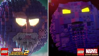 LEGO Marvel Superheroes 2 vs LEGO Marvel Super Heroes Characters (Side by Side Comparison) Part 5
