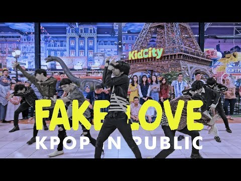 [KPOP IN PUBLIC CHALLENGE] BTS (방탄소년단) _ 'FAKE LOVE' Dance Cover by BYF from Indonesia
