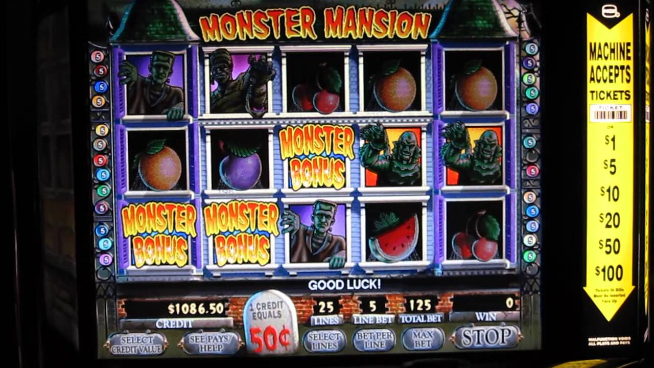 Slot machine monster house
