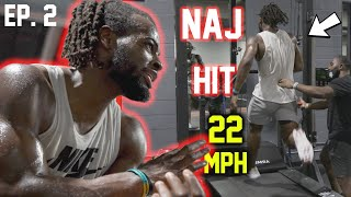 Alabama RB Najee Harris HITS 22 MPH in preparation for his FINAL NCAA SEASON - The Campaign Ep. 2
