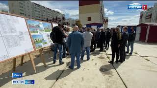 Александр Бурков проверил ход строительства новой школы в Центральном округе