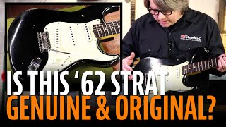 Watch the Trade Secrets Video, Is this '62 Strat genuine and all original?