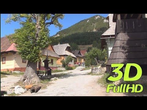 [3DHD] Vlkolínec, Slovakia / Slovensko / Słowacja