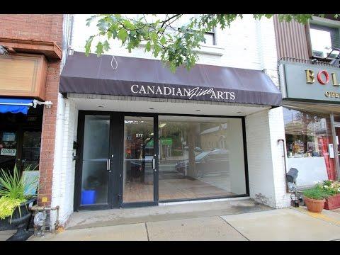 (Sold!) 1,000 sf Retail/Storefront | Mt Pleasant Village, Toronto | Bonnie Byford R.E.
