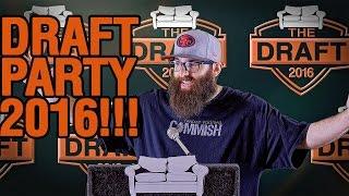 Fantasy Football Draft Results 2016 and Draft Party
