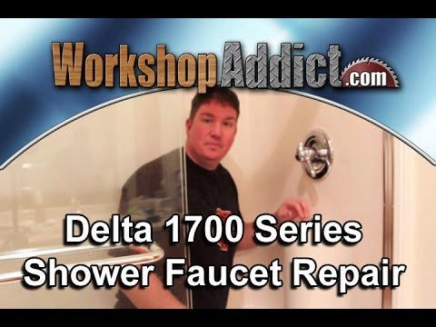Repair A Leaking Delta 1700 Shower Faucet Youtube