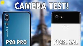 Huawei P20 Pro vs Google Pixel 2XL: Camera Comparison!