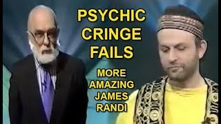 Psychic Cringe Fails - More Amazing James Randi