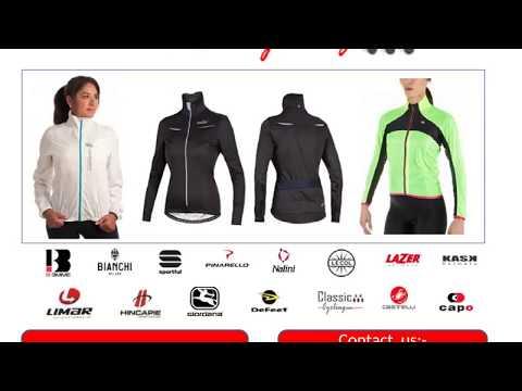 Women's Cycling Jackets by Giordana, Hincapie, Capo