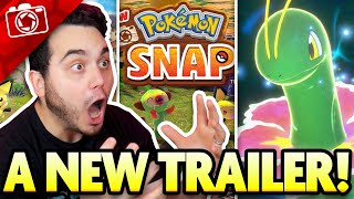 NEW Pokemon Snap Trailer REACTION, Release Date and More!