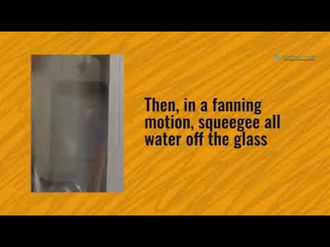 how to clean windows, a quick guide