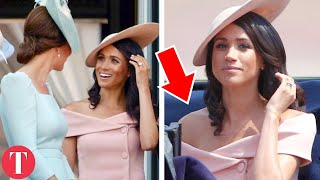 Meghan Markle SLAMMED For Wearing Inappropriate Outfit To The Queen's Birthday